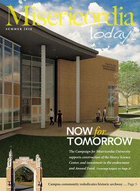Learn more about the Now For Tomorrow Campaign in the Misericordia Today Summer 2018 Magazine