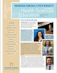 View Misericordia's CHSE 2018 Newsletter