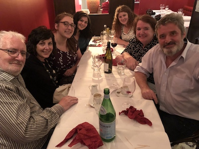Dinner with Terry Eagleton