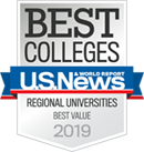 Best Colleges: A World Report U.S. News Regional Universities Best Value 2019