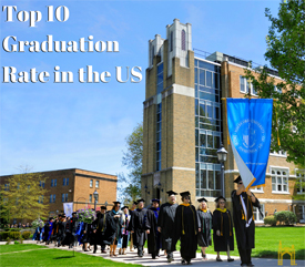 Top 10 Graduation Rate in the US